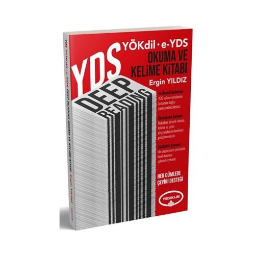 Yediiklim Yayınları YDS YÖKDİL E-YDS Deep Reading Okuma ve Kelime Kitabı