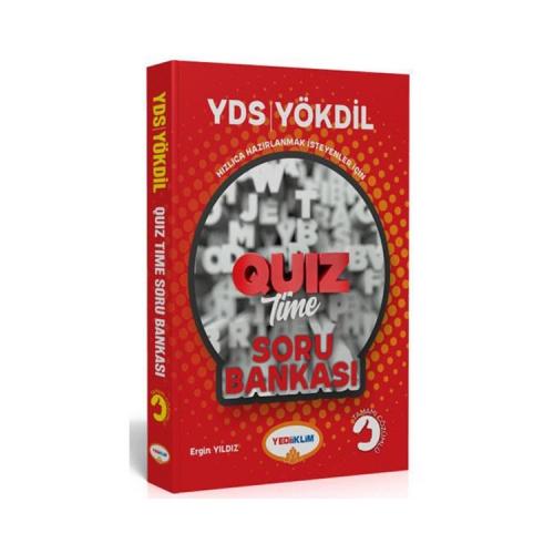 Yediiklim Yayınları YDS YÖKDİL Quiz Time Tamamı Çözümlü Soru Bankası
