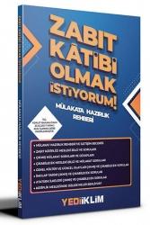 Yediiklim Yayınları - Yediiklim Yayınları Zabıt Katibi Olmak İstiyorum Mülakat Hazırlık Rehberi