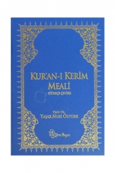 Yeni Boyut Yayınları - Yeni Boyut Yayınları Kur'an-ı Kerim Meali Rahle Boy Ciltli