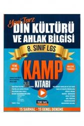 Yeni Tarz Yayınları - Yeni Tarz Yayınları 8. Sınıf LGS Din Kültürü ve Ahlak Bilgisi Kamp Kitabı
