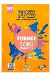Yeni Trend Yayınları - Yeni Trend 2021 KPSS Genel Yetenek Genel Kültür Türkçe Soru Bankası