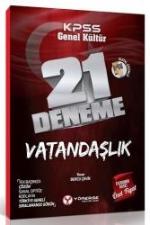 Yönerge Yayınları - Yönerge Yayınları 2020 KPSS Vatandaşlık 21 Deneme Dijital Çözümlü