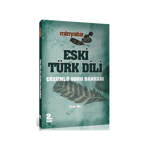 Yönerge Yayınları 2019 ÖABT MİNYATÜR Eski Türk Dili Çözümlü Soru Bankası