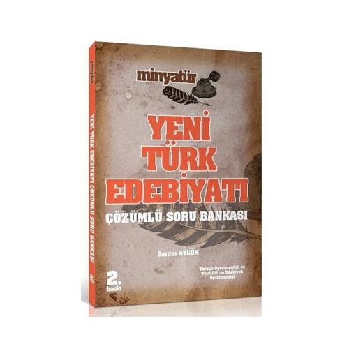 Yönerge Yayınları 2019 ÖABT MİNYATÜR Yeni Türk Edebiyatı Soru Bankası Çözümlü