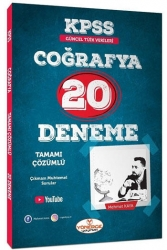 Yönerge Yayınları - Yönerge Yayınları 2021 KPSS Coğrafya Çözümlü 20 Deneme