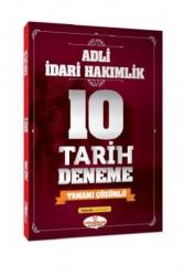 Yönerge Yayınları - Yönerge Yayınları Adli İdari Hakimlik Tarih 10 Deneme Çözümlü