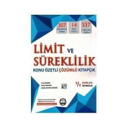 Yüzde Yüz Yayınları - Yüzde Yüz Yayınları Limit ve Süreklilik Konu Özetli Çözümlü Kitapçık