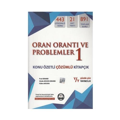 Yüzde Yüz Yayınları Oran Orantı ve Problemler 1