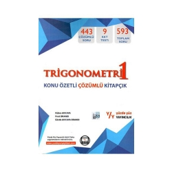 Yüzde Yüz Yayınları - Yüzde Yüz Yayınları Trigonometri 1 Konu Özetli Çözümlü Kitapçık