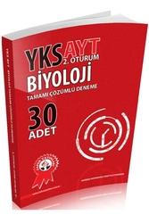 Zafer Dershaneleri Yayınları - Zafer Yayınları AYT Biyoloji Tamamı Çözümlü Deneme 30 Adet