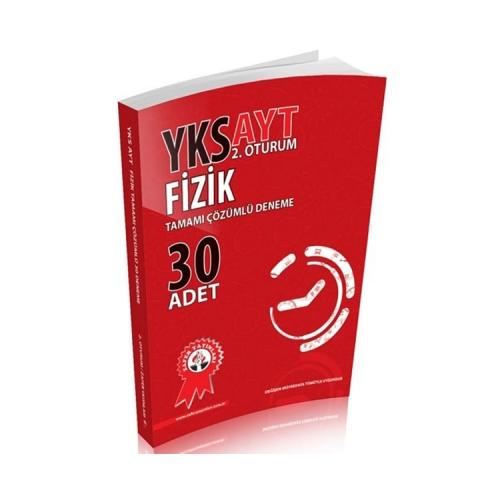 Zafer Yayınları AYT Fizik Tamamı Çözümlü Deneme 30 Adet