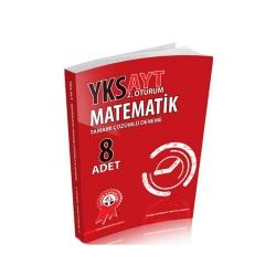 Zafer Dershaneleri Yayınları - Zafer Yayınları AYT Matematik Tamamı Çözümlü 8 Deneme