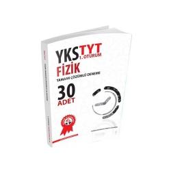 Zafer Dershaneleri Yayınları - Zafer Yayınları TYT Fizik Tamamı Çözümlü 30 Deneme