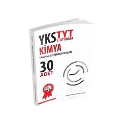 Zafer Dershaneleri Yayınları - Zafer Yayınları TYT Kimya Tamamı Çözümlü 30 Deneme
