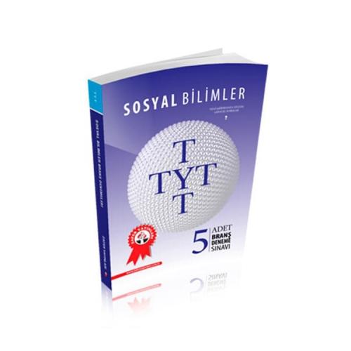 Zafer Yayınları TYT Sosyal Bilimler 5li Deneme Sınavı