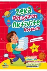 Sancak Yayınları - Zeka Geliştiren Aktvite Kitabım - Kırmızı Kitap Sancak Yayınları
