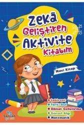 Sancak Yayınları - Zeka Geliştiren Aktvite Kitabım - Mavi Kitap Sancak Yayınları