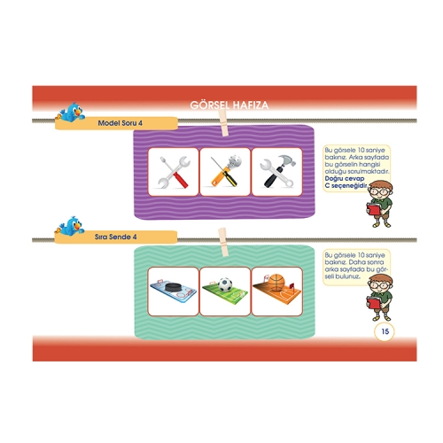 Zeki Çocuk Yayınları 2. Sınıf BİLSEM Hazırlık Kitabı