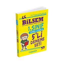 Zeki Çocuk Eğitici Kitaplar - Zeki Çocuk Yayınları Bilsem 1. Sınıf 5'li Deneme Seti
