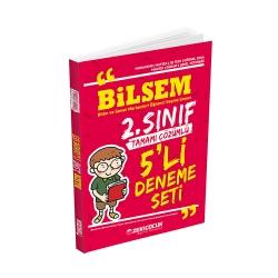 Zeki Çocuk Eğitici Kitaplar - Zeki Çocuk Yayınları Bilsem 2. Sınıf 5'li Deneme Seti